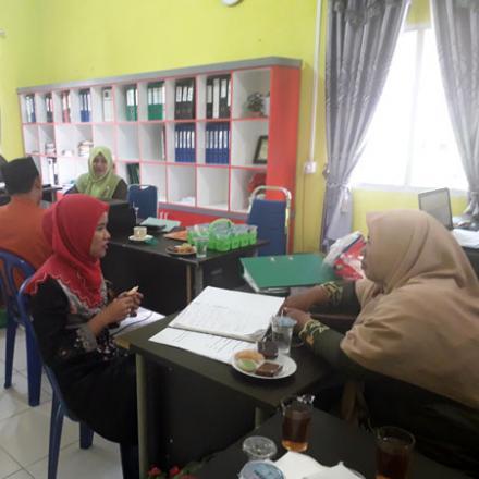 Penilaian Lomba Desa Tingkat Kecamatan Bengkalis di Desa Pedekik Telah Dilakukan