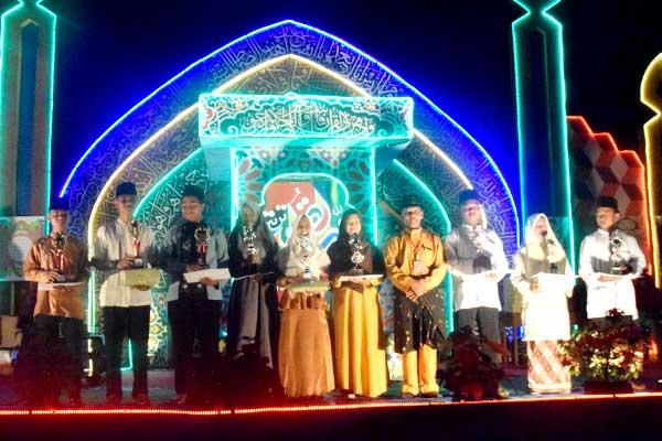 Inilah Para Pemenang MTQ Desa Pedekik ke- 31, Dusun III Juara Umum
