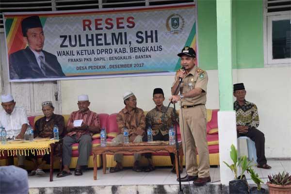 Reses Wakil DPRD Zulhelmi Di Pedekik Tampung Aspirasi Masyarakat
